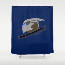 Vakarian Shower Curtain