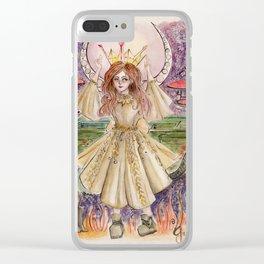 Alice in Wonderland Clear iPhone Case