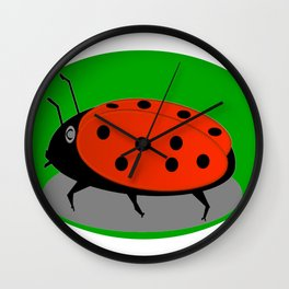 June beetle Wall Clock