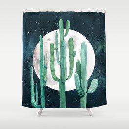 Desert Nights 2 Shower Curtain