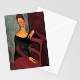 Amedeo Modigliani - Portrait of the Artist's Wife Stationery Cards