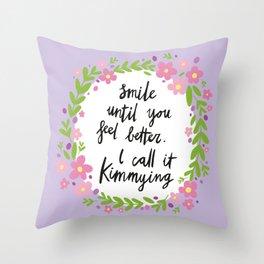 Kimmying Throw Pillow