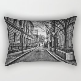 Downtown Alley Rectangular Pillow