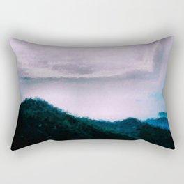 Once Again (Paint) the Land Rectangular Pillow