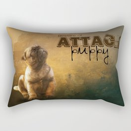 Pug Puppy Rectangular Pillow