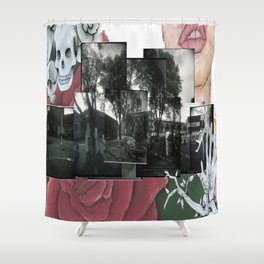 Halloweentowne Shower Curtain