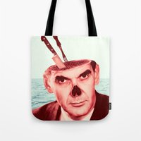 butcher billy Tote Bags featuring Butcher by Dorian Danielsen