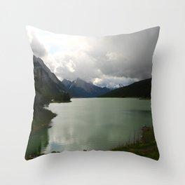 Dark Skies Over Medicine Throw Pillow