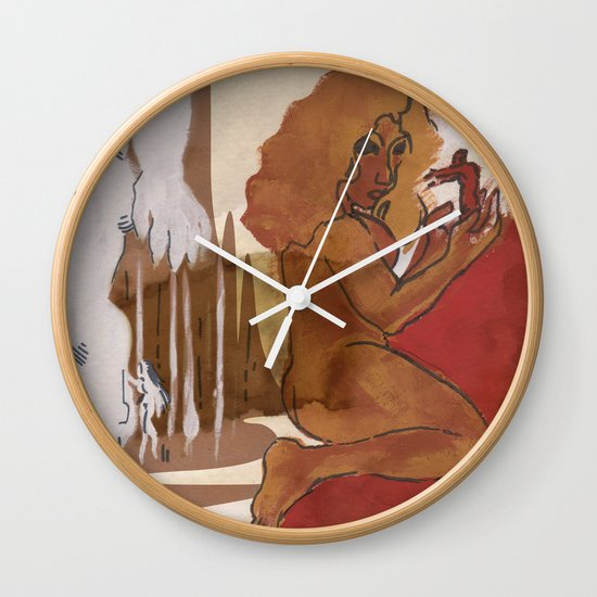 """Love This Giant"" by Virgina McCarthy Wall Clock"