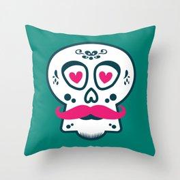 Calaca Chula Throw Pillow