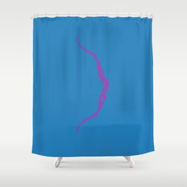 Hawkeye Weapon Shower Curtain