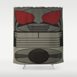Kamen Rider Super-1 Shower Curtain