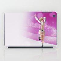 miley iPad Cases featuring Miley by raulovsky (Raúl Ramos Melo)