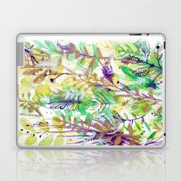 Leaves texture 02 Laptop & iPad Skin