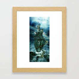 Isle of disenchantment Framed Art Print