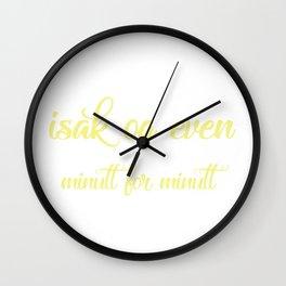SKAM - Evak - Isak og Even minutt for minutt Wall Clock