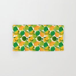 Lemons and Limes Hand & Bath Towel