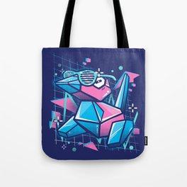 Cool Polygons Tote Bag