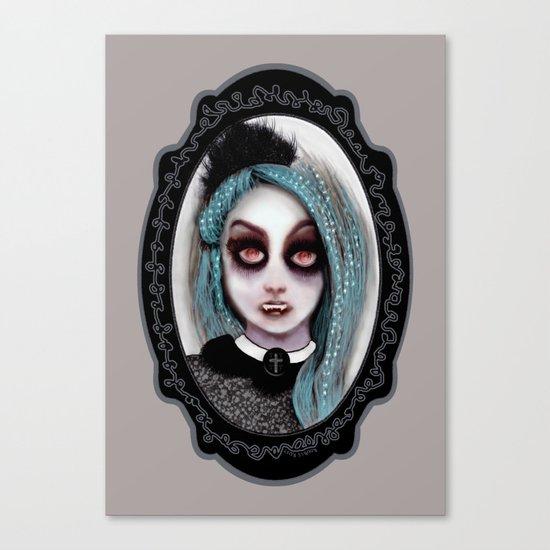Harajuku Vampire Canvas Print