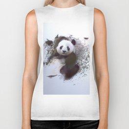 Animals and Art - Panda Biker Tank