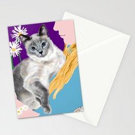 Tasha with the Flower Goddess Stationery Cards