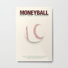 Moneyball Metal Print