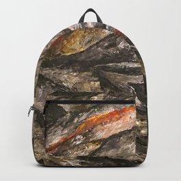 Burning Backpack