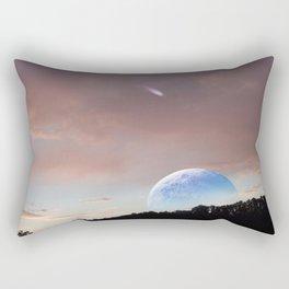In the morning Rectangular Pillow