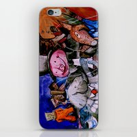 political iPhone & iPod Skins featuring Political Circus by eVol i