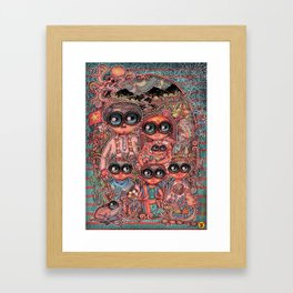 The Quintessential Family Framed Art Print