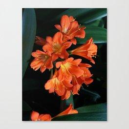Jungle Floral Canvas Print