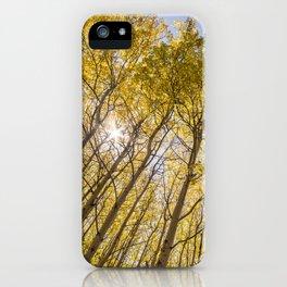 Sparkling Autumn iPhone Case