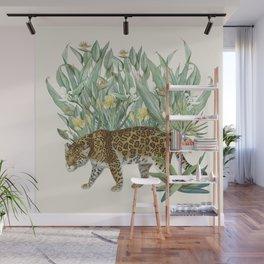 Floral Tiger Jungle Wall Mural