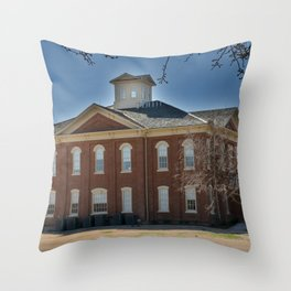 Cherokee Nation - Capitol in Tahlequah, No. 3 of 3 Throw Pillow