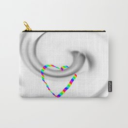 Hook heart Carry-All Pouch