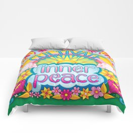 Cultivate inner peace Comforters