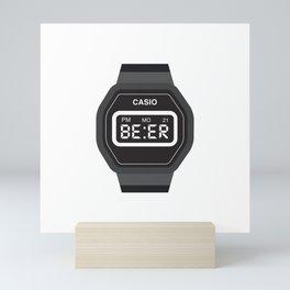 Beer Watch Mini Art Print