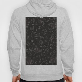 Third Dimensional Pattern: Dark Hoody
