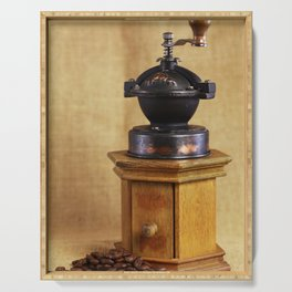 Coffee grinder Serving Tray