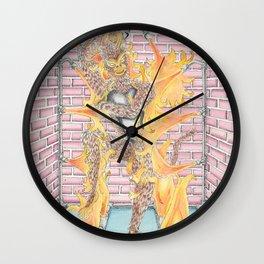In the Jade Emperor's Furnace Wall Clock