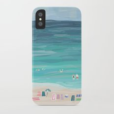 Day at the Beach iPhone X Slim Case