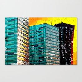 Gran Via Sunset Canvas Print