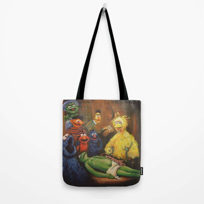The Anatomy Lesson of Dr. Bird Tote Bag