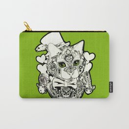 Paisley Cat Carry-All Pouch