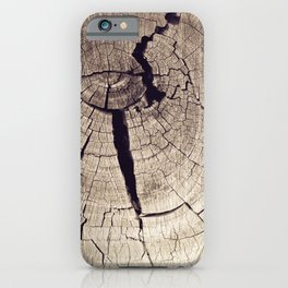 Cracks in Time - Photography #Society6 iPhone Case