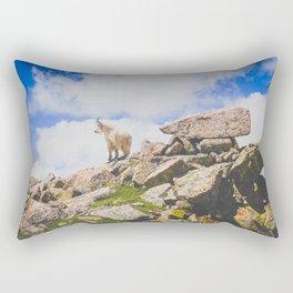 Goat Series, I Rectangular Pillow