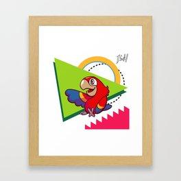 Parrot Pal Framed Art Print