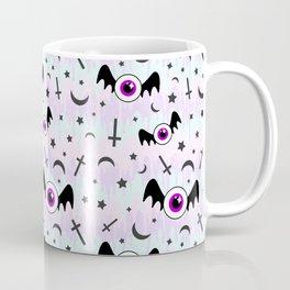 Pastel Melt Winged Eyes Coffee Mug