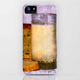 Milk And Bread iPhone Case