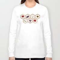 cookies Long Sleeve T-shirts featuring Cookies by Marta Li
